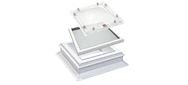 image of glass rooflight