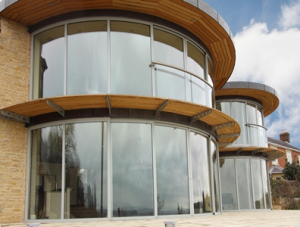 Balcony Systems Solutions Curved Balcony Doors