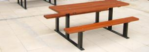 Neptune Street Furniture - picnic tables
