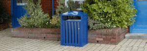 Neptune Street Furniture - litter bins