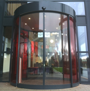 Automatic Curved Entrance Doors from Tormax UK