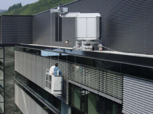 Power Access Systems Ltd Roof Protection System Suspended