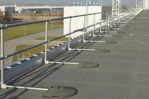 Roof edge Fabrications Roof Guardrails Image