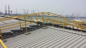 Kee Safety rooftop access image