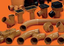 OSMA Osma Drainage Products, rainwater goods, plastic pipes