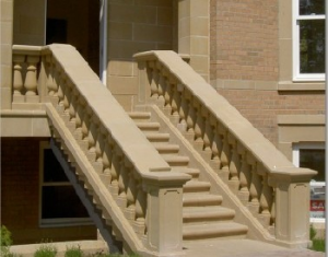 cast stone balustrade