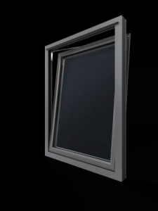soundcraft aluminium tilt & turn window