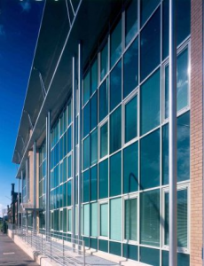 image of soundcraft aluminium curtain walling