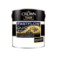 Crown Paints Quick Dry Eggshell