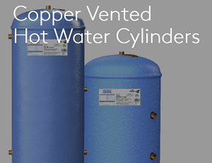 copper vented cylinders