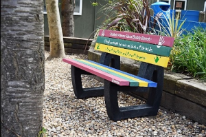 Friendship Bench for Schools